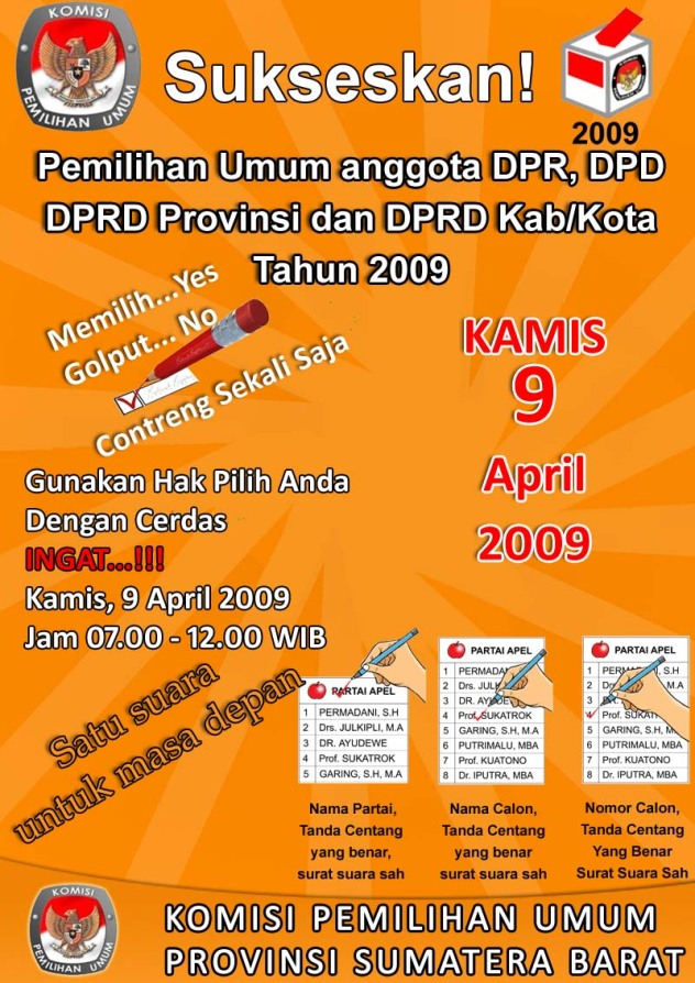 sukseskan-pemilu2009
