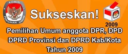 sukseskan-pemilu2009banner